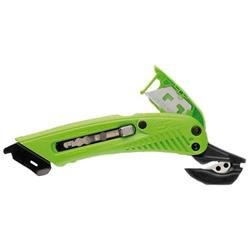 Pacific Handy Cutter S5 Safety Cutter for Right Handed Users Green Ref S-5R