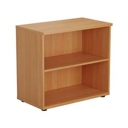 Mezzo Desk High Book Case - Beech Ref TES745BE