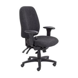 Vista High Back Chair - Charcoal Ref CH0903CH