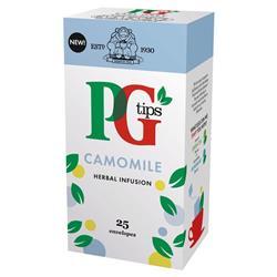 PG Tips Tea Bags Camomile Enveloped Ref A08002 [Pack 25]