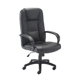 Keno Leather Chair - Black Ref CH0237