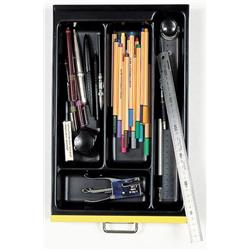 Optional A4 4 Compartment Tray - Black Ref 227P5/1
