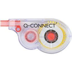 Correttore a nastro Q-Connect - monouso - stesura laterale - 5mm x 8m