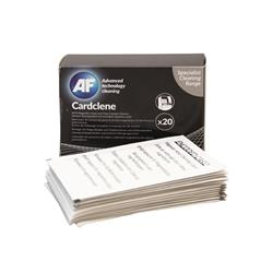 AF Cardclene ATM Magnetic Head/Chip Cleaning Card (20 Pack) CCE020C