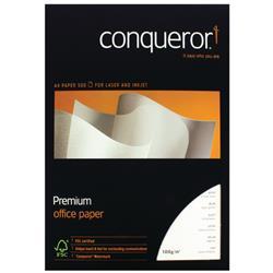 Conqueror Prestige A4 Brilliant White 100gsm Wove Finish Paper Ref 88541 - 500 Sheets