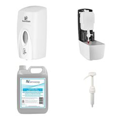Hand Sanitiser and Dispenser Bundle