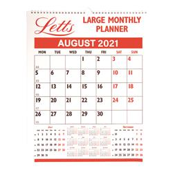 Letts Monthly Planner Large 2021 21-TLMP