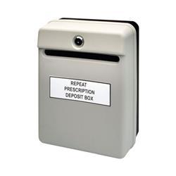 Helix Posting Suggestion Box Grey W81065