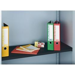 Bisley Standard Shelf 908x390x25mm Black For Bisley Tambour Units and Cupboards BBS/P1