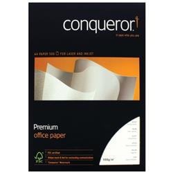 Conqueror Paper Wove Brilliant A4 White 100gsm Ream (Pack of 500) CQW0324BWNW