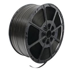 Polypropylene Strapping 12mmx2000m Black (Strapping for security packages) 82129003