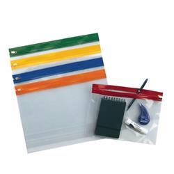 Snopake Zippa-Bag S Classic A5 Assorted (Pack of 25) 12722