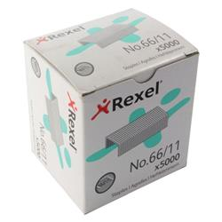Rexel No 66 Staples 11mm (Pack of 5000) 06070
