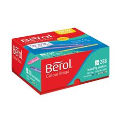 Berol Colour Broad Class Pack Assorted (Pack of 288) 2057598