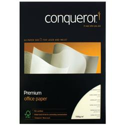 Conqueror Watermark ed A4 Paper 100gsm Cream (Pack of 500) CQX0324CRNW