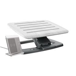 Fellowes Hana Foot Support Adjustable Grey 8055801 - Cashback Offer