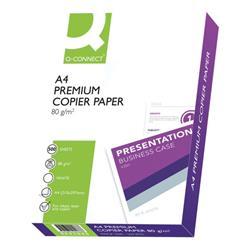 Q-Connect Premium Copier/Laser A4 Paper 80gsm White 5 Reams KF01088A