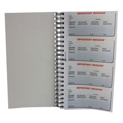 Q-Connect Duplicate Telephone Message Book 400 Messages KF01336