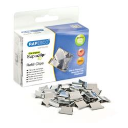 Rapesco Supaclip 40 Refill Clips Stainless Steel (Pack of 200) CP20040S
