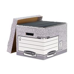 Bankers Box Storage Box Grey Standard (Pack of 10) 00810-FF - Offset your CO2 Draw