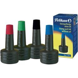 Inchiostro per timbri Pelikan - nero - 28 ml