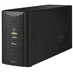 Gruppo di continuità Oxxtron 1000VA Trust con batteria integrata - 2 prese - nero