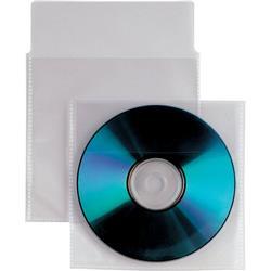 Buste trasparenti porta CD/DVD Insert Sei Rota - con patella - conf. 500
