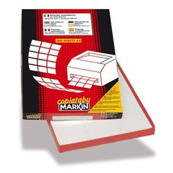 Etichette adesive Markin - 210x148,5 mm - Nr. etichette / foglio 2 - X210C509