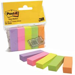 Post-it® Notes Markers - 15x50 mm - assortiti - conf. 5