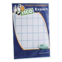 Etichette adesive Export Tico - 27x18 mm  - 30 etichette/ff - 10 fogli