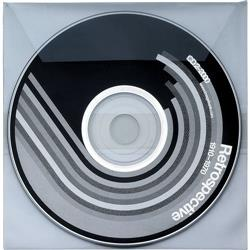 Buste adesive Favorit per CD/DVD Edp System - trasparente - conf. 25