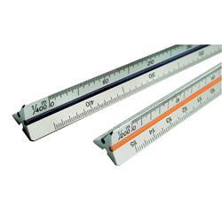 Scalimetro Tecnostyl - 30cm - edilizia 1:100-200-250-300-400-500