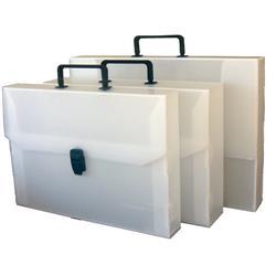 Valigetta in polionda Dispaco - 28x38 - dorso 8 - bianca