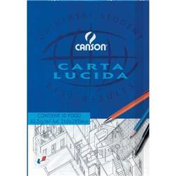 Blocco disegno carta lucida Canson - A4 - 50 fogli - 90/95 g