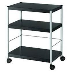 Fast Paper Mobile 3 Shelf Trolley Medium Ref FDP3M01