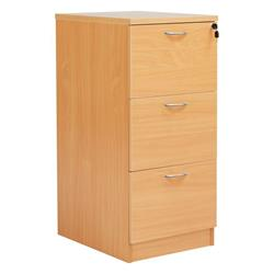 Octet Plus 3 Drawer Filing Cabinet - Beech - FPFC3BCH