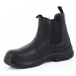 28779b94fec Click Footwear D/D Dealer Boot PU/Leather Size 3 Black Ref CF16BL03