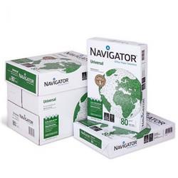 Carta Navigator Universal - carta A4 offerta per stampanti ufficio - 80 g/mq - 1 scatola da 5 risme