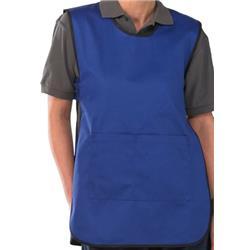 Click Workwear Tabbard PolyCotton Side Fastening XL Royal Blue Ref PCTABRXL