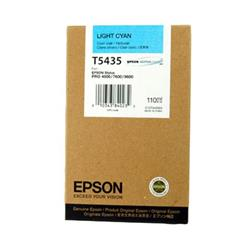 Epson UltraChrome T5435 Light Cyan Ink Cartridge (110ml)