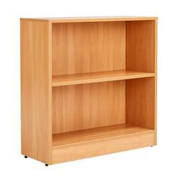 Workmode 800mm Bookcase with 1 Shelf - Beech Ref - ZIMBC800BCH