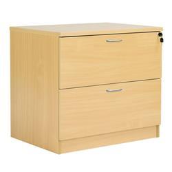 Octet Plus Desk High Lateral Filing Cabinet - Nova - FPDHFC600NOAK