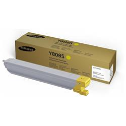 Samsung Y808S (Yield 20,000 Pages) Yellow Toner Cartridge for MultiXpress SL-X4220 Multifunction Laser Printers