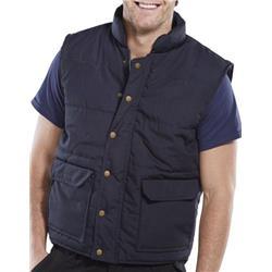Click Workwear Quebec Bodywarmer 3XL Navy Blue Ref QNXXXL