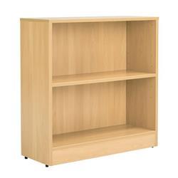 Workmode 800mm Bookcase with 1 Shelf - Oak Ref - ZIMBC800OAK