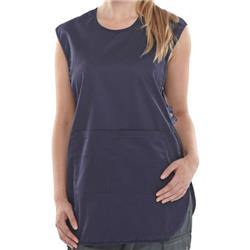 Click Workwear Tabbard PolyCotton Side Fastening Small Navy Blue Ref PCTABNS