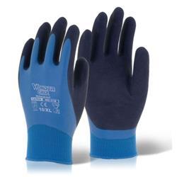 Wonder Grip Water resistant Aqua Blue L Ref WG318L [Pack 12]