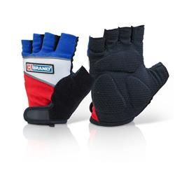 B-Brand Fingerless Gel Grip Gloves 2XL Ref FGG01XXL