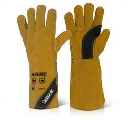 B-Flex Premium Golden Welders Gauntlet Ref BFPGW [Pack 10]