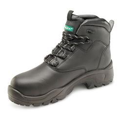 Click Footwear Non Metallic S3 PUR Boot PU/Rubber/Leather 9 Black Ref CF65BL09